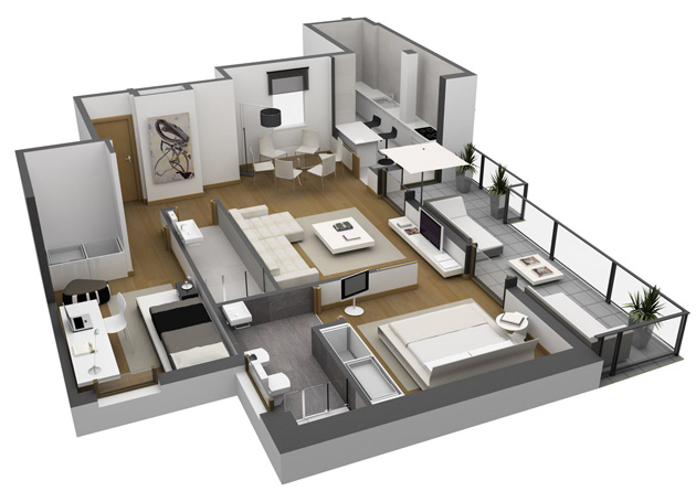 Ibaarreta promueve for Planos de viviendas de un piso